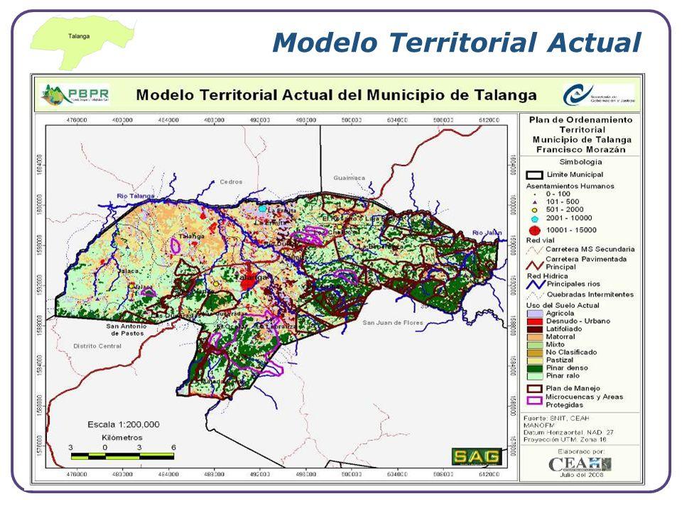 Modelo Territorial Actual
