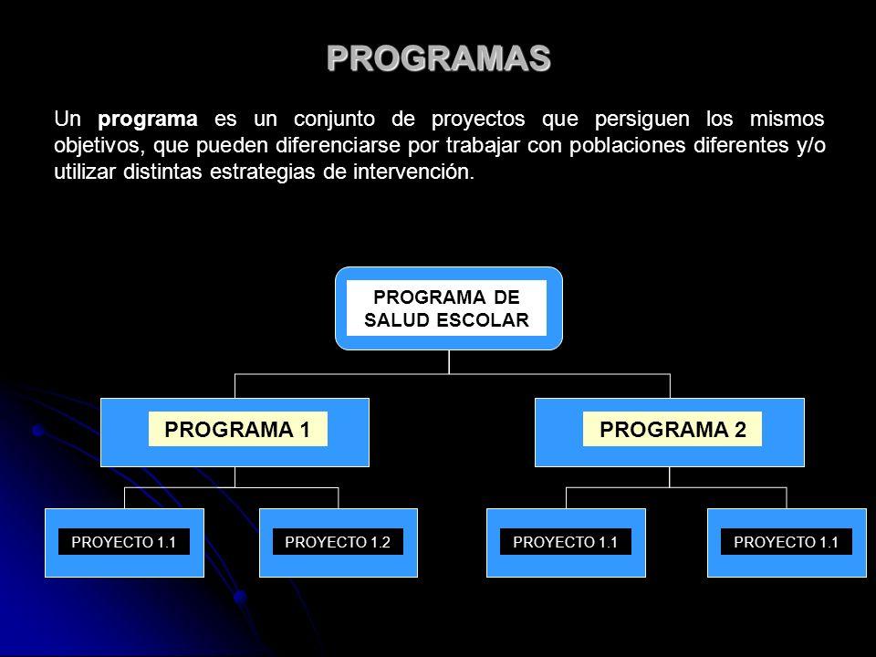 PROGRAMA DE SALUD ESCOLAR