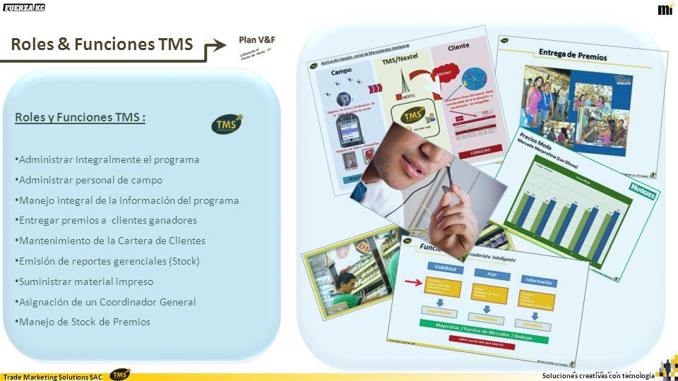 Roles & Funciones TMS Roles y Funciones TMS :