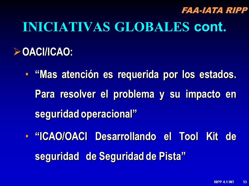 INICIATIVAS GLOBALES cont.