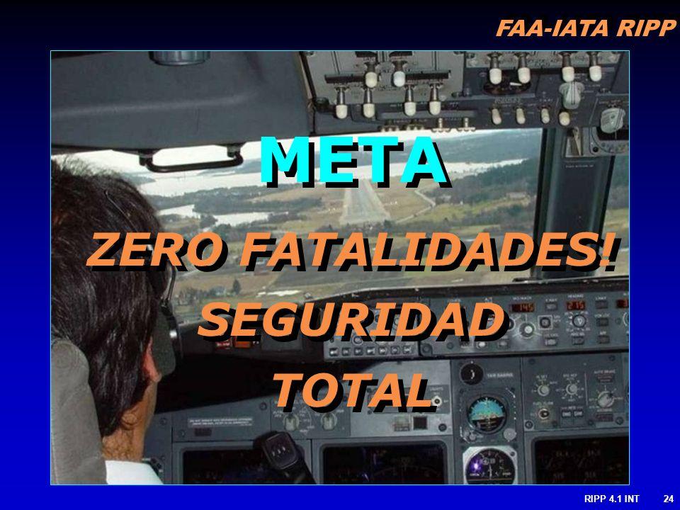 META ZERO FATALIDADES! SEGURIDAD TOTAL RIPP 4.1 INT