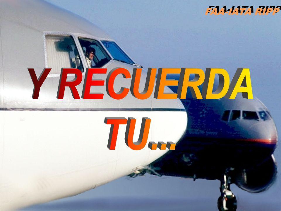 FAA-IATA RIPP Y RECUERDA TU...