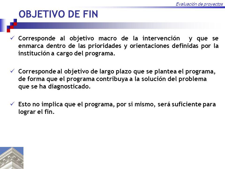 OBJETIVO DE FIN