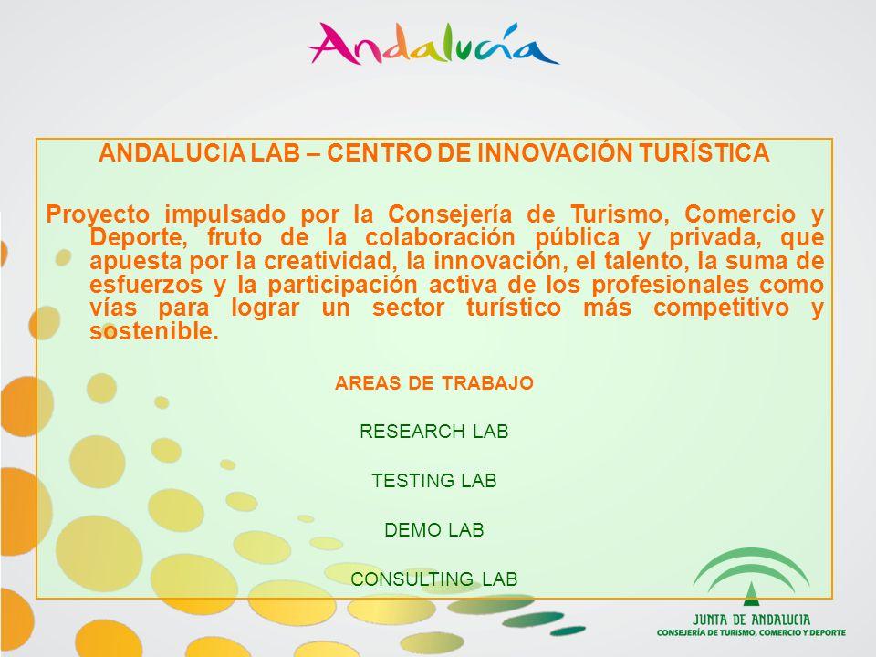 ANDALUCIA LAB – CENTRO DE INNOVACIÓN TURÍSTICA