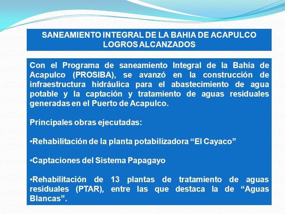 SANEAMIENTO INTEGRAL DE LA BAHIA DE ACAPULCO