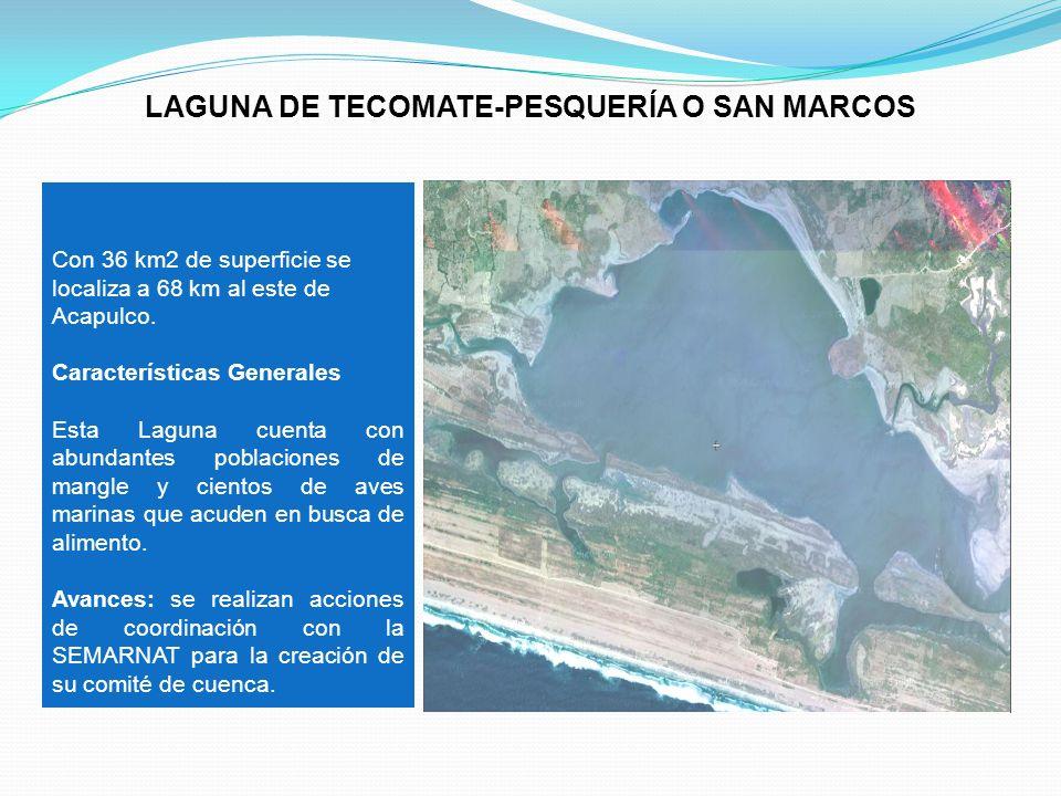LAGUNA DE TECOMATE-PESQUERÍA O SAN MARCOS