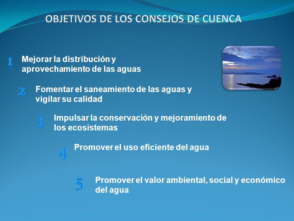 Mejorar la distribución y aprovechamiento de las aguas