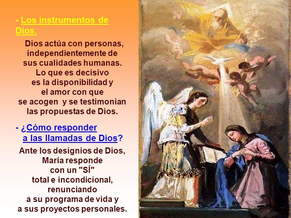 - Los instrumentos de Dios.