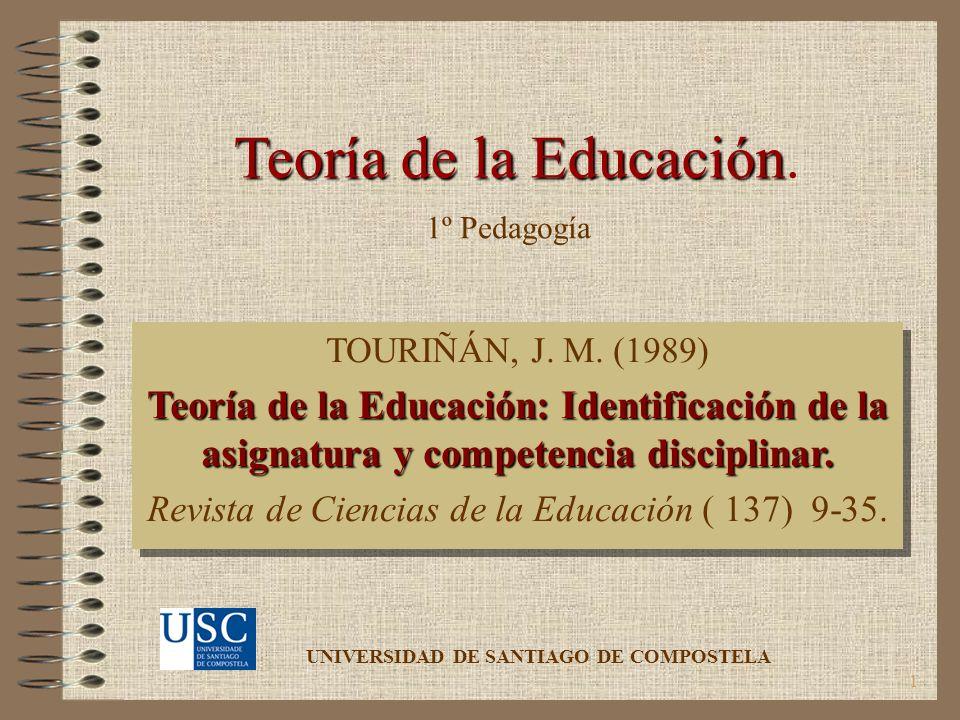 Revista de Ciencias de la Educación ( 137) 9-35.