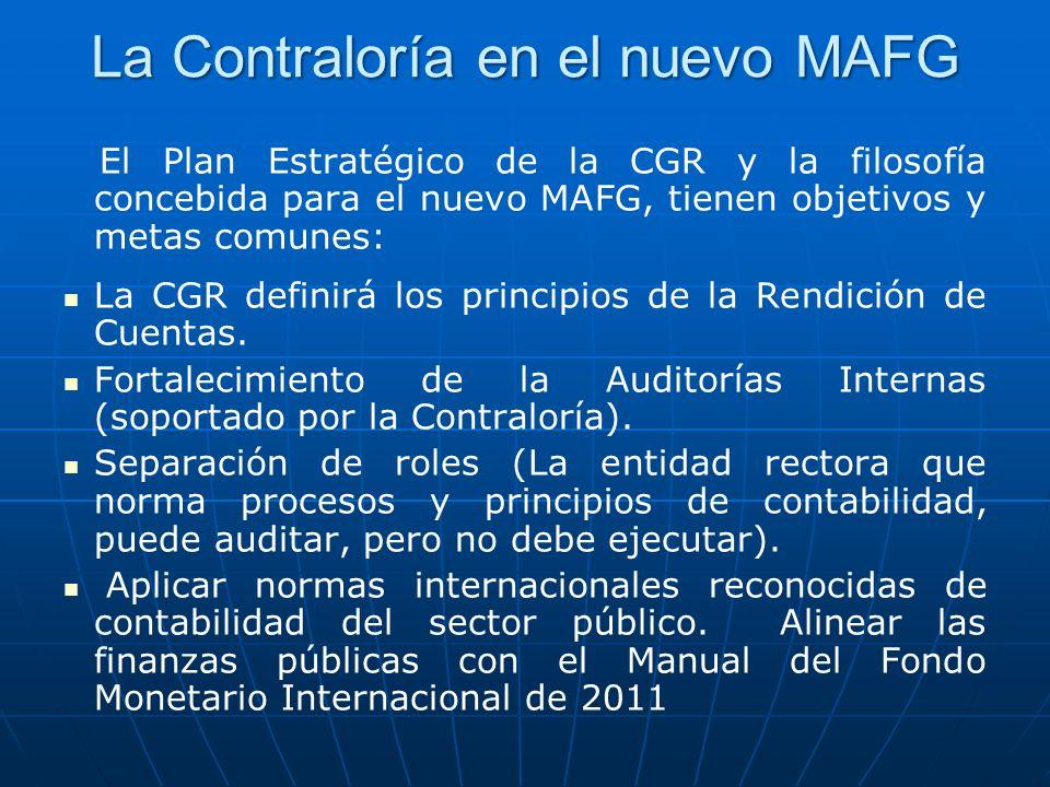 La Contraloría en el nuevo MAFG