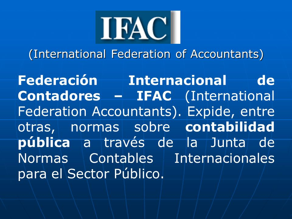 (International Federation of Accountants)