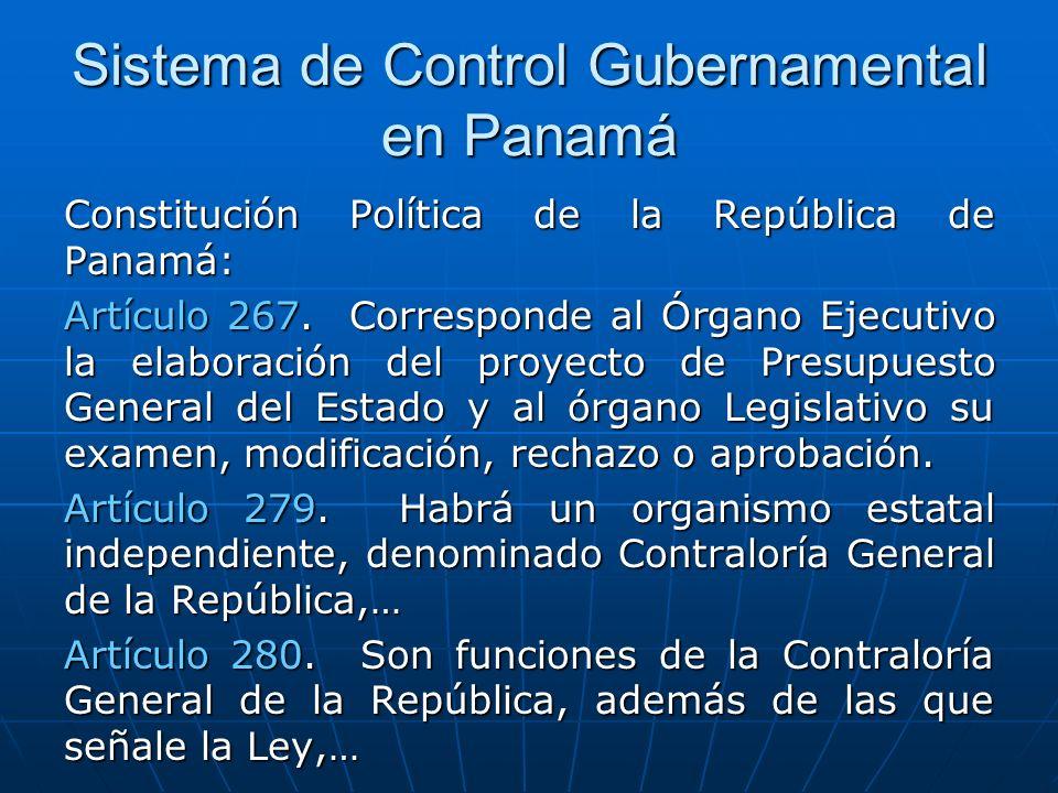 Sistema de Control Gubernamental en Panamá