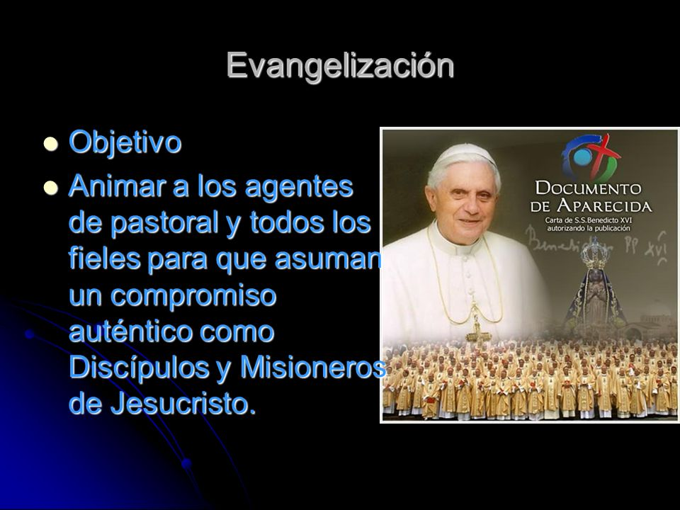 Evangelización Objetivo