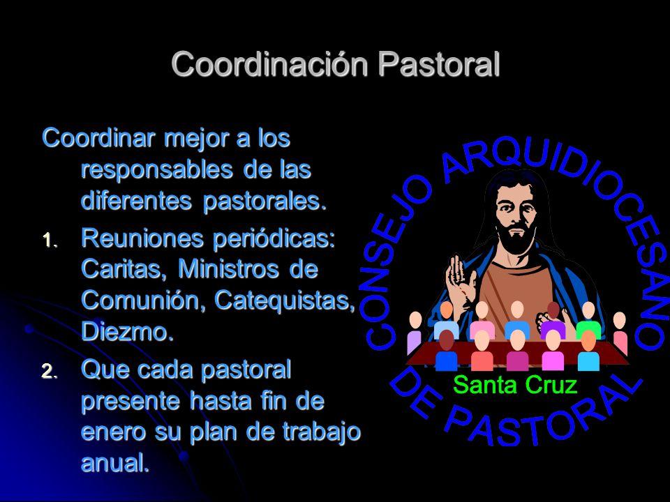 Coordinación Pastoral