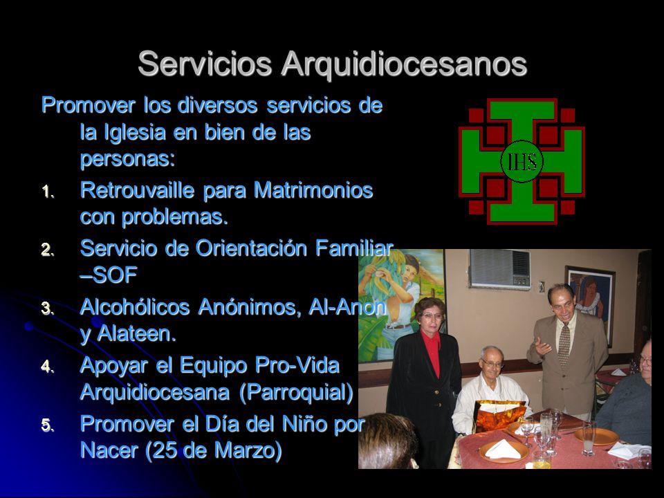 Servicios Arquidiocesanos