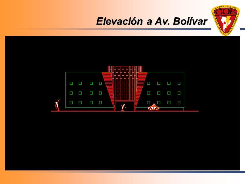 Elevación a Av. Bolívar