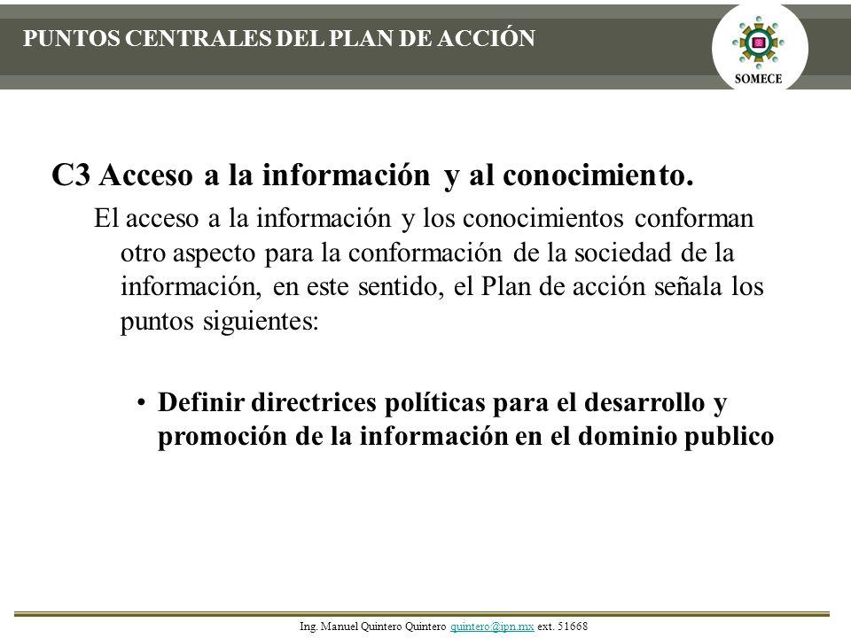 C3 Acceso a la información y al conocimiento.