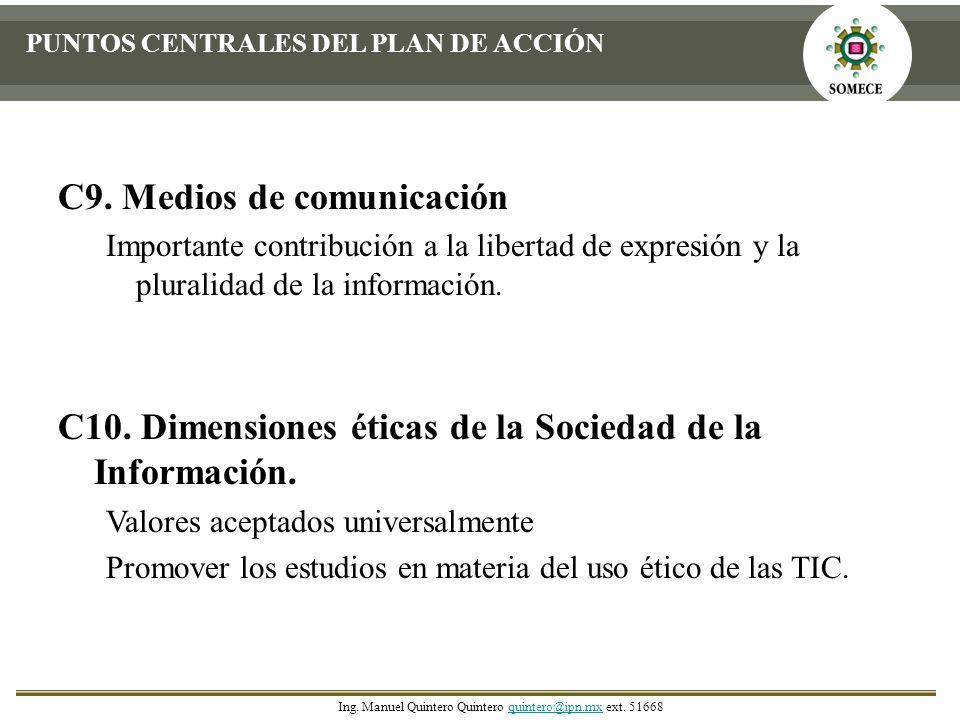 C9. Medios de comunicación