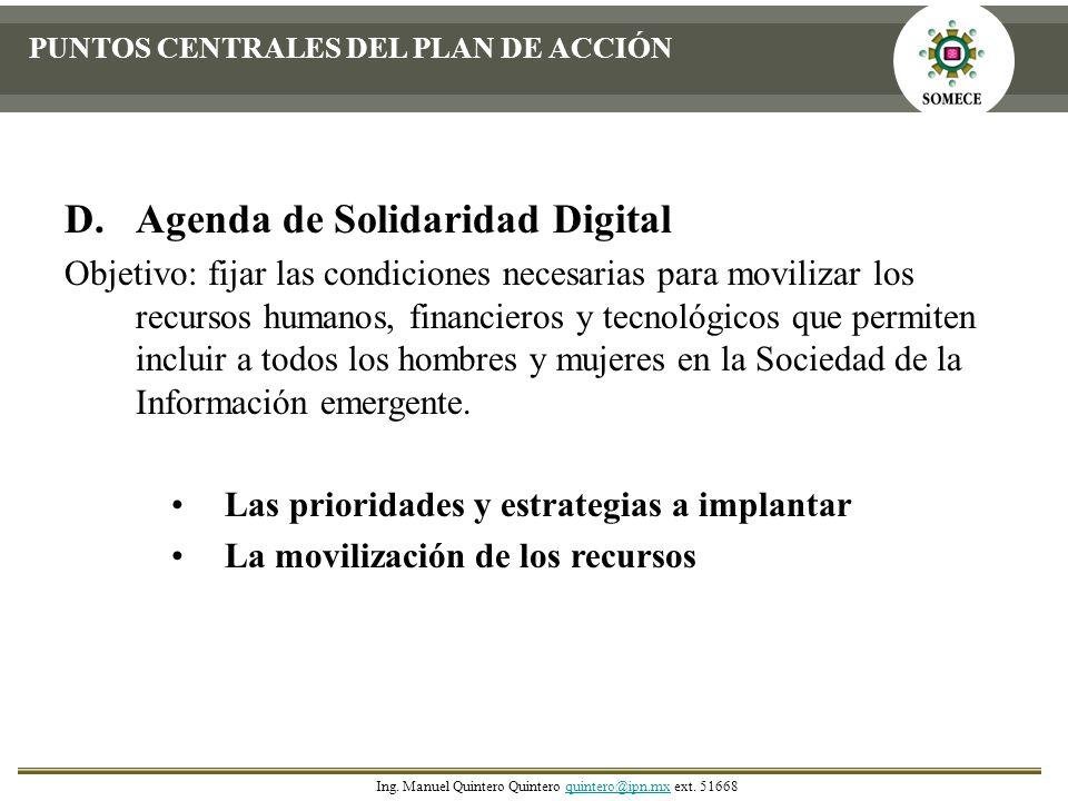 Agenda de Solidaridad Digital