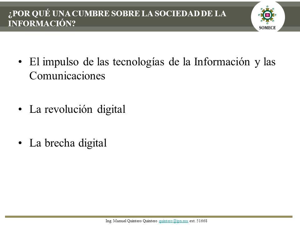 El impulso de las tecnologías de la Información y las Comunicaciones