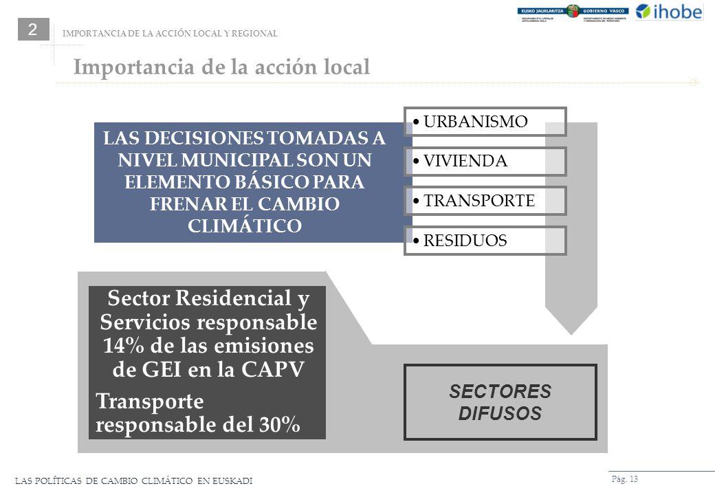 Importancia de la acción local