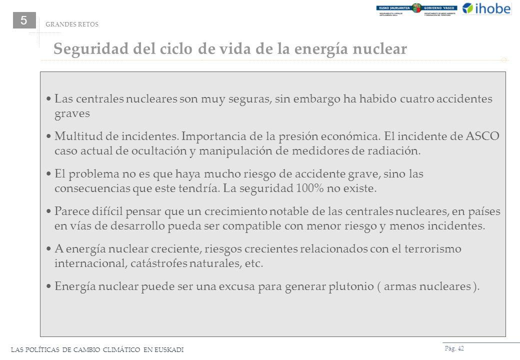 Seguridad del ciclo de vida de la energía nuclear