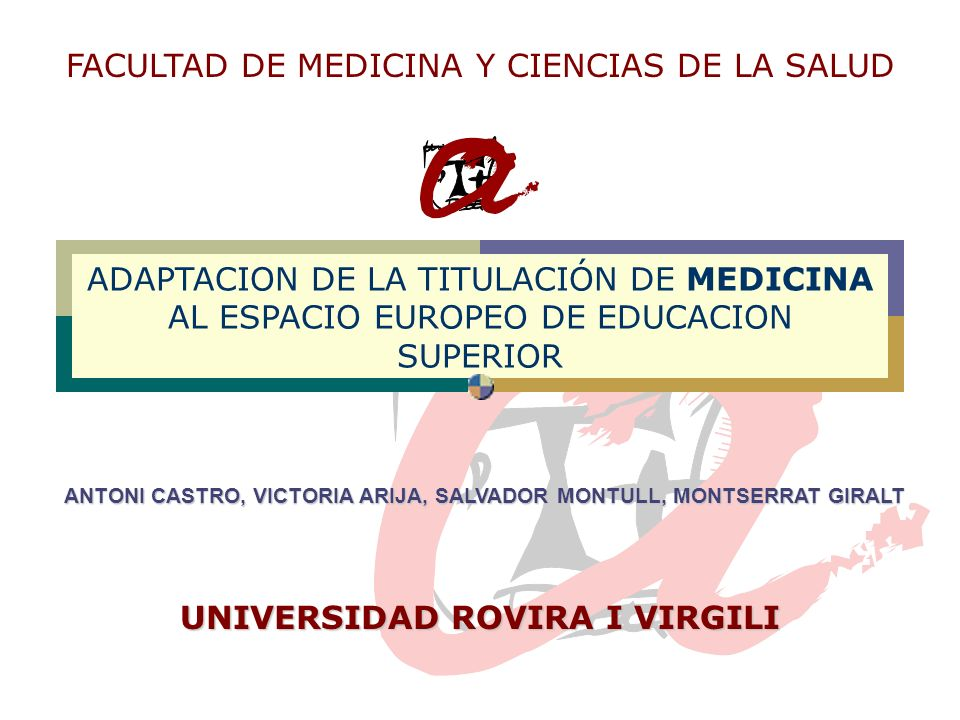 UNIVERSIDAD ROVIRA I VIRGILI