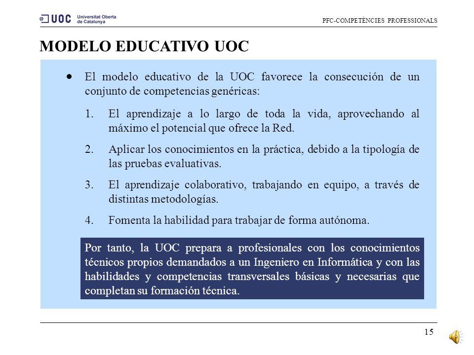 PFC-COMPETÈNCIES PROFESSIONALS