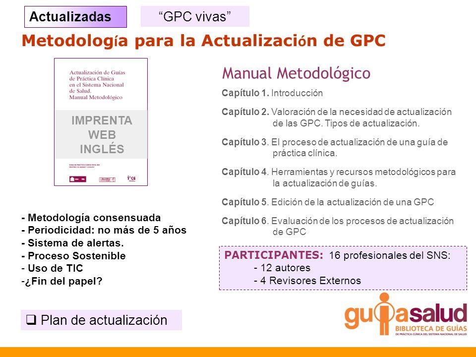 Metodología para la Actualización de GPC