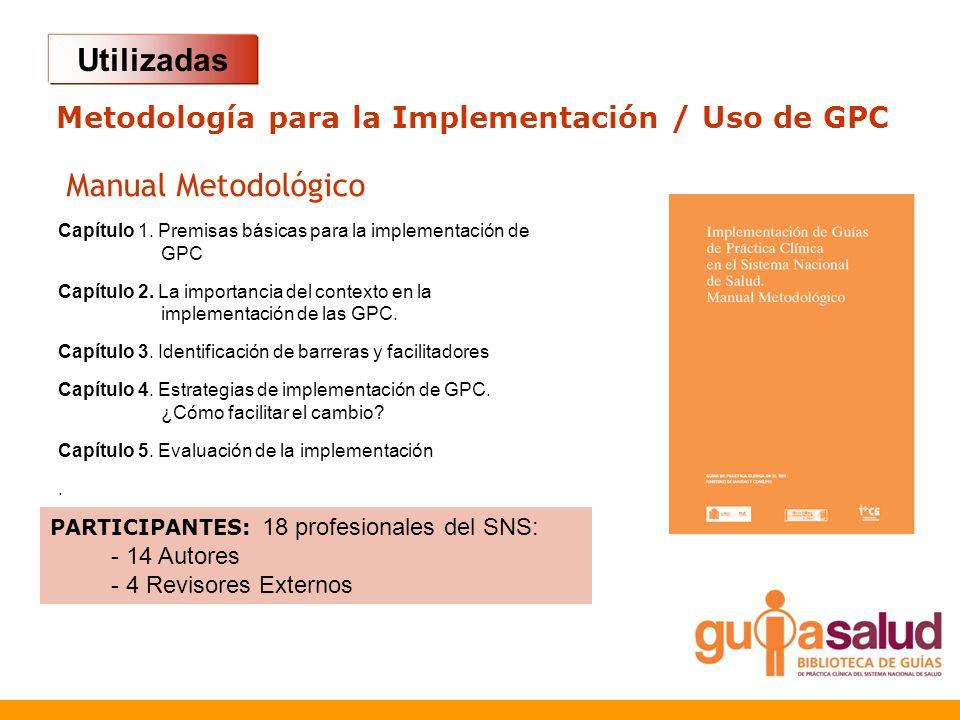 Metodología para la Implementación / Uso de GPC