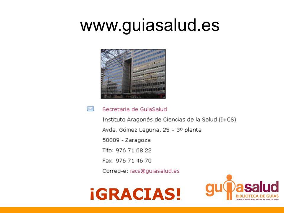 www.guiasalud.es ¡GRACIAS!