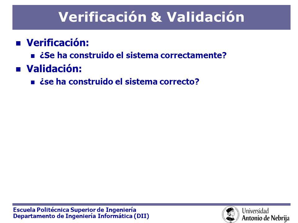 Verificación & Validación