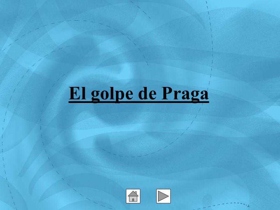 El golpe de Praga