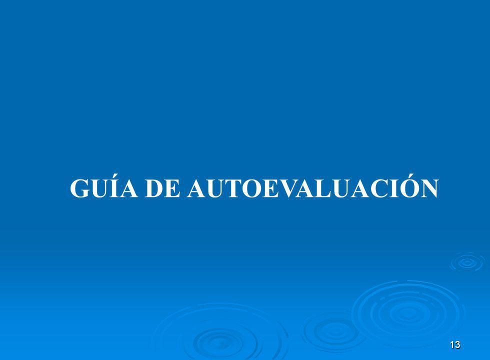 GUÍA DE AUTOEVALUACIÓN