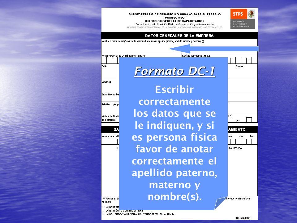 Formato DC-1