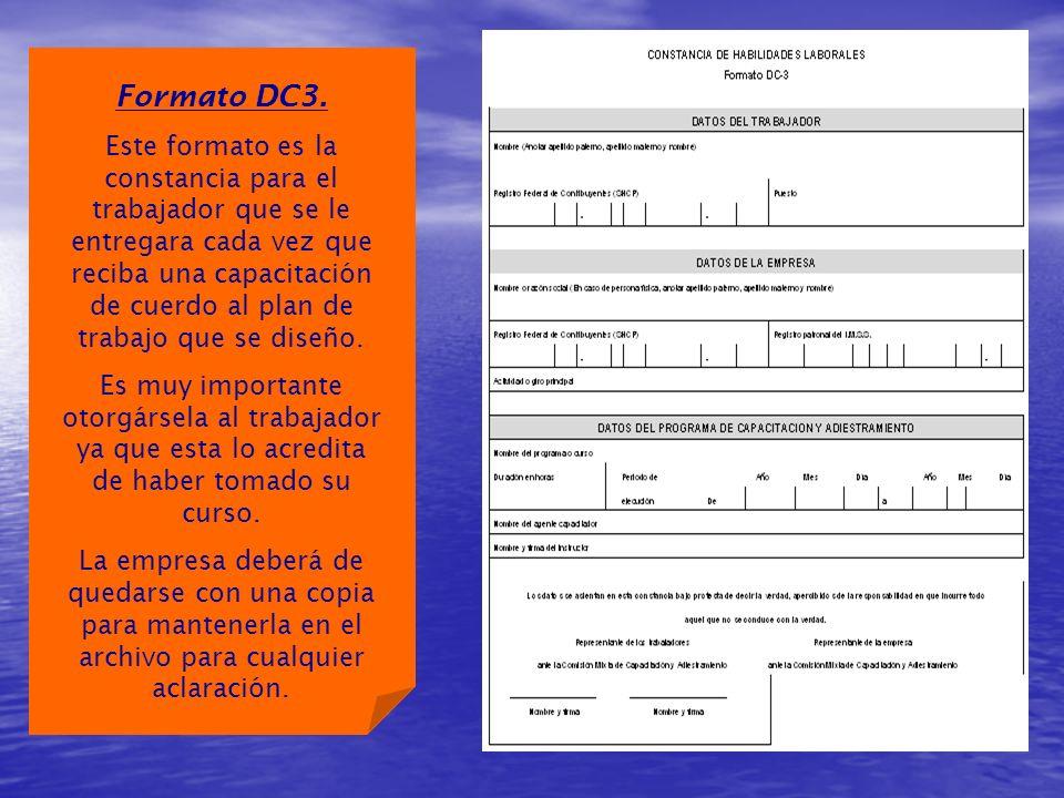 Formato DC3.