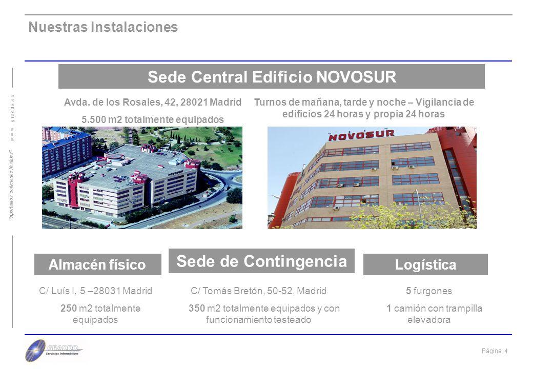 Sede Central Edificio NOVOSUR Sede de Contingencia