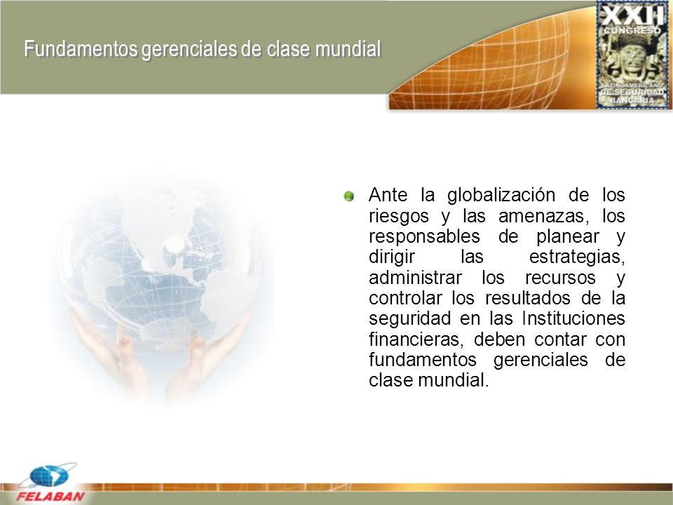 Fundamentos gerenciales de clase mundial
