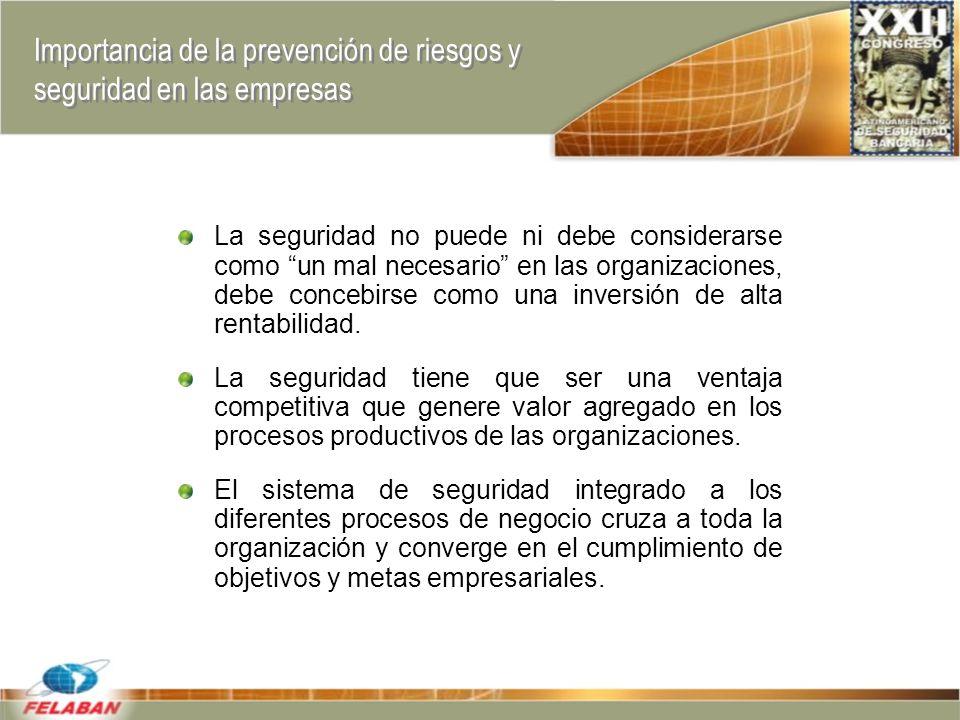 Importancia de la prevención de riesgos y seguridad en las empresas