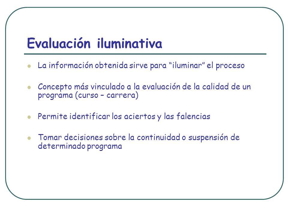 Evaluación iluminativa
