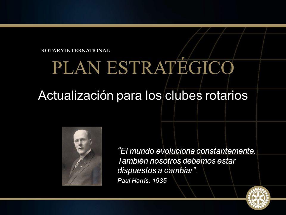 Actualización para los clubes rotarios