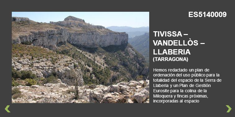 TIVISSA – VANDELLÒS – LLABERIA