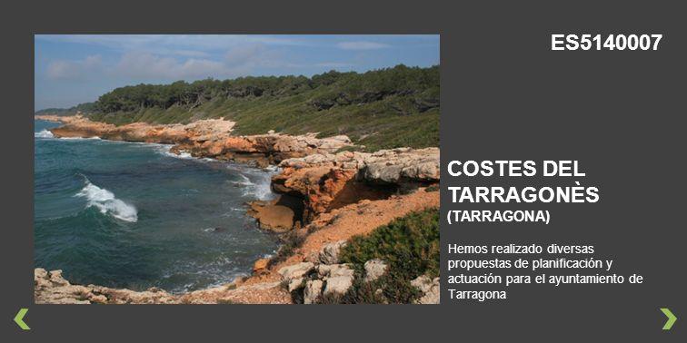 ES5140007 COSTES DEL TARRAGONÈS (TARRAGONA)