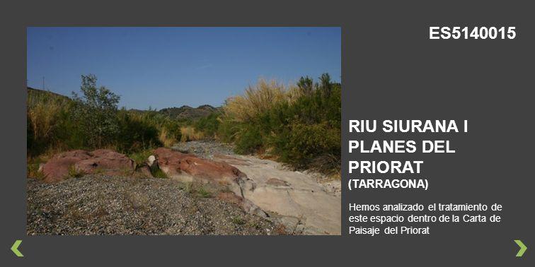 RIU SIURANA I PLANES DEL PRIORAT