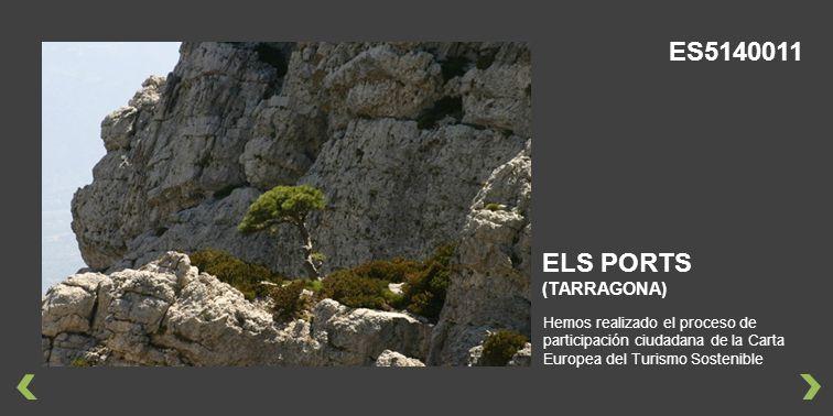 ES5140011 ELS PORTS (TARRAGONA)
