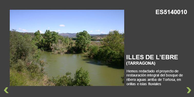 ES5140010 ILLES DE L'EBRE (TARRAGONA)