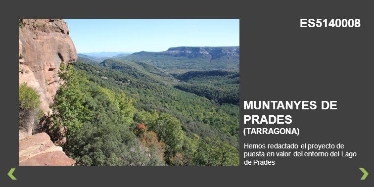 ES5140008 MUNTANYES DE PRADES (TARRAGONA)