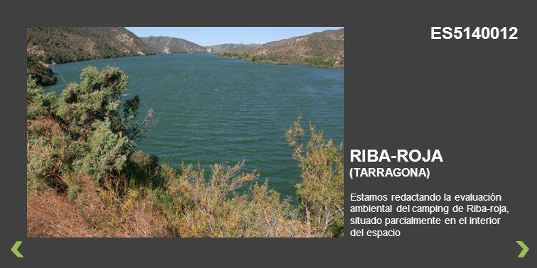 ES5140012 RIBA-ROJA (TARRAGONA)