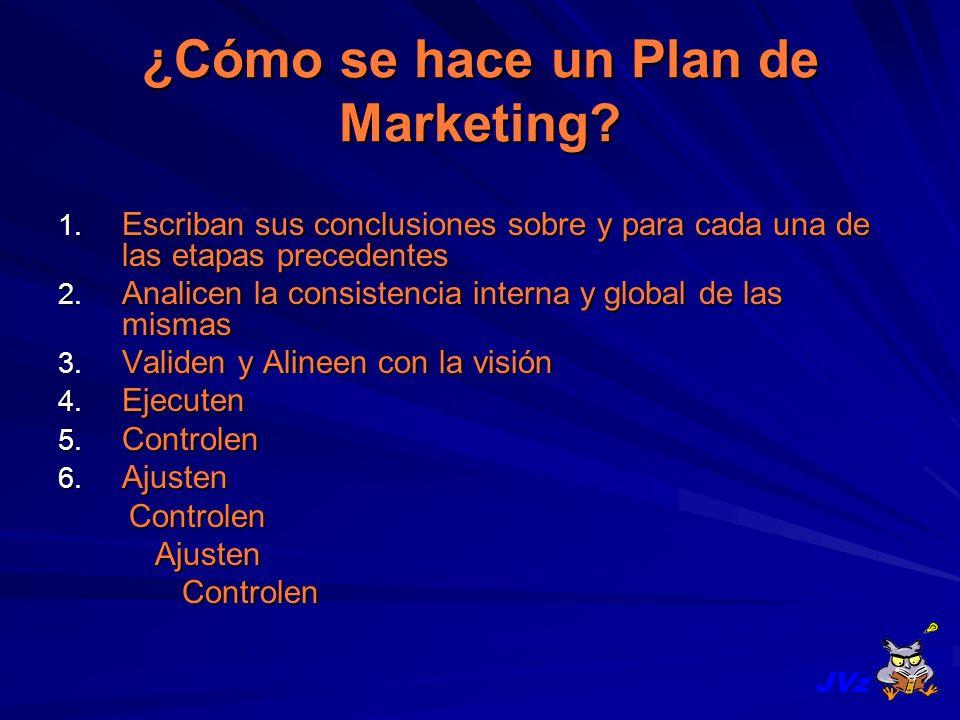 ¿Cómo se hace un Plan de Marketing
