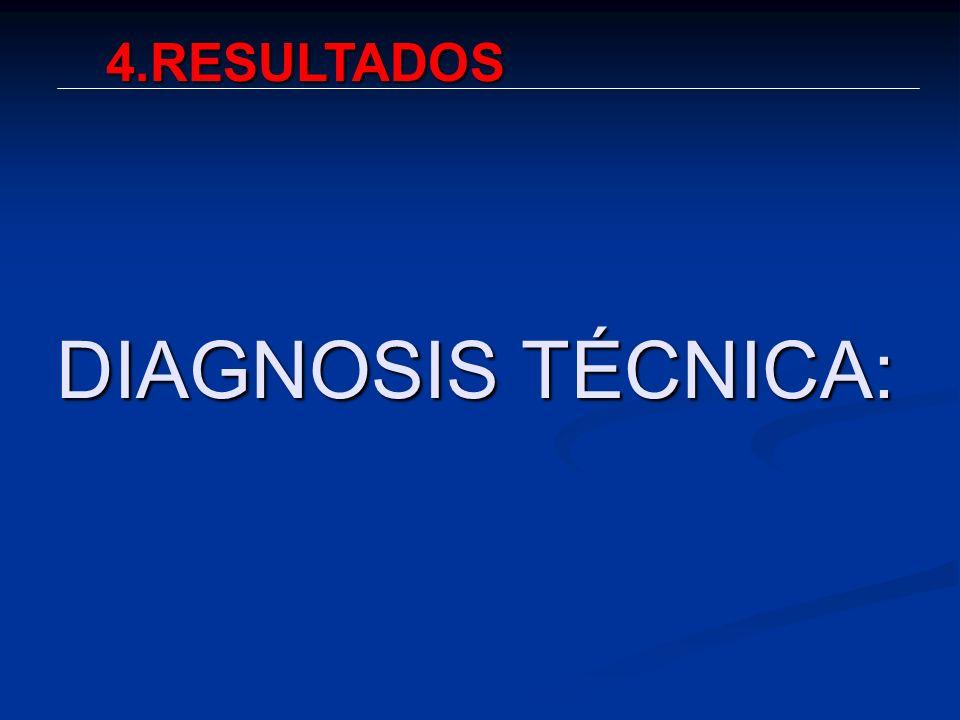 4.RESULTADOS DIAGNOSIS TÉCNICA:
